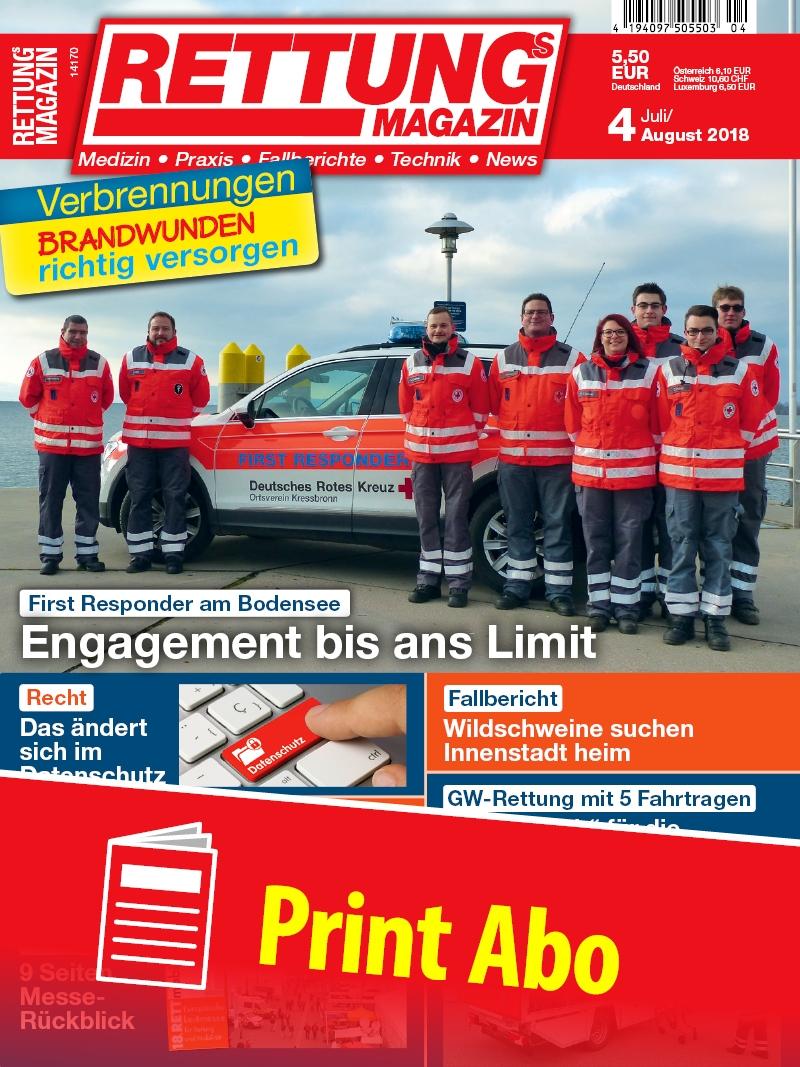 Produkt: Rettungs-Magazin Jahresabonnement Print