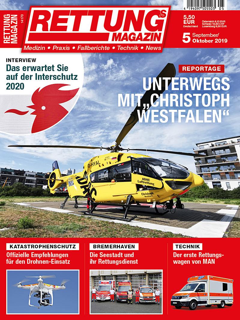 Produkt: Rettungs-Magazin 5/2019 Digital