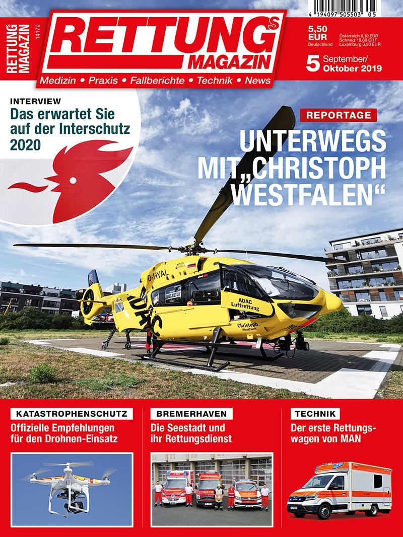 Aktuelle Ausgabe: rettungsdienst.de