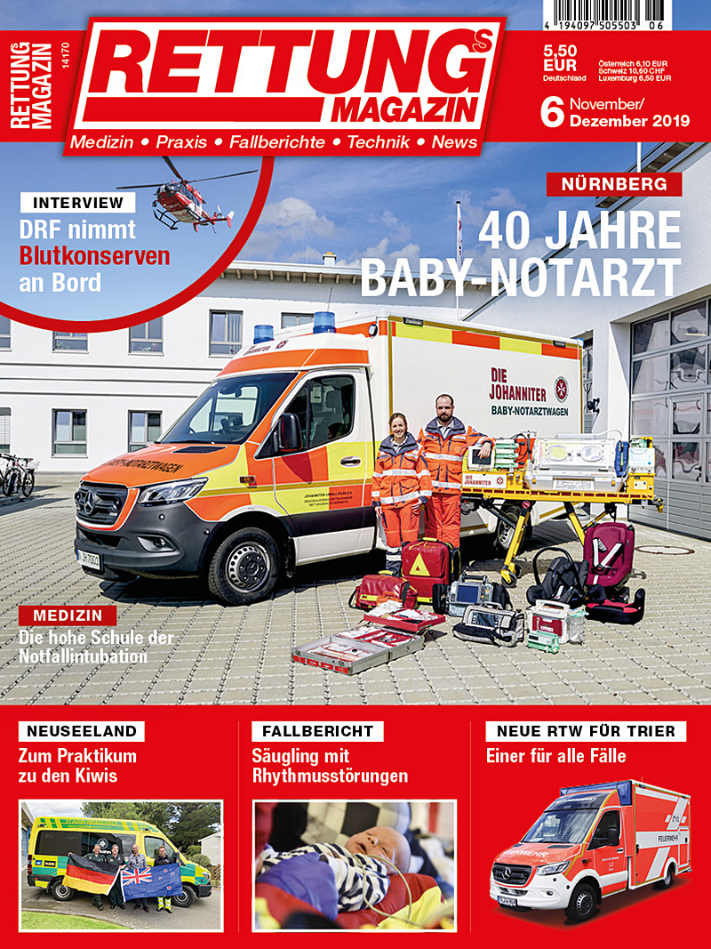 Produkt: Rettungs-Magazin 6/2019 Digital