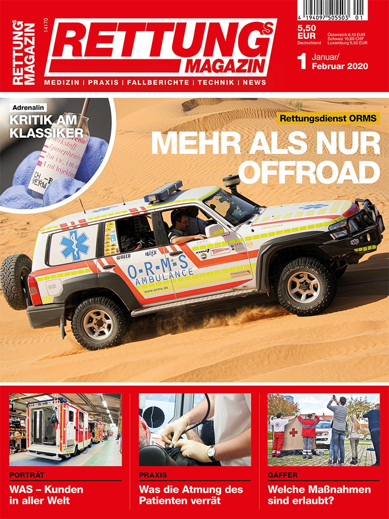 Produkt: Rettungs-Magazin 1/2020