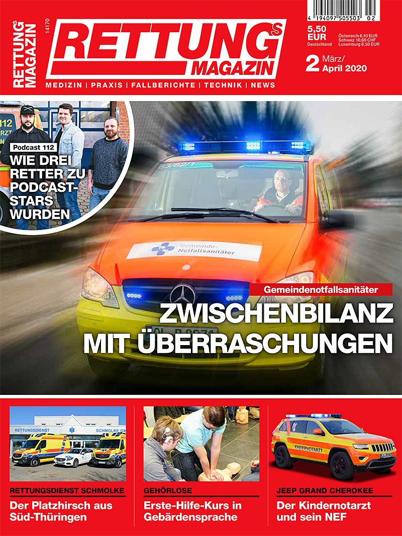 Produkt: Rettungs-Magazin 2/2020
