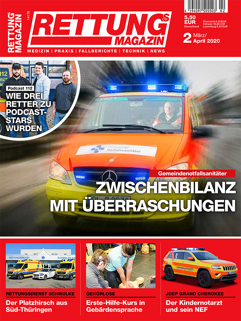 Produkt: Rettungs-Magazin 2/2020 Digital