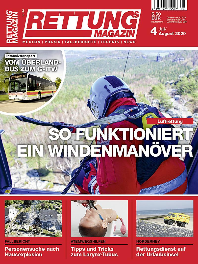 Produkt: Rettungs-Magazin 4/2020 Digital