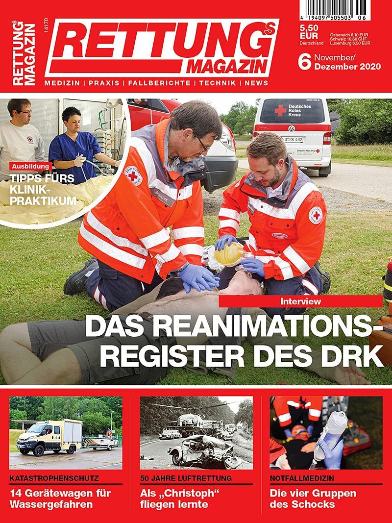 Produkt: Rettungs-Magazin 6/2020