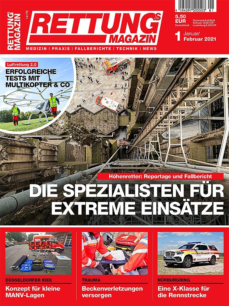 Produkt: Rettungs-Magazin 1/2021