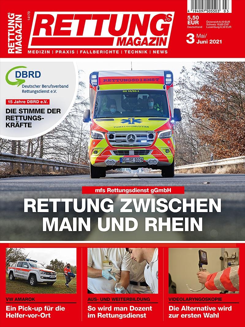 Produkt: Rettungs-Magazin 3/2021