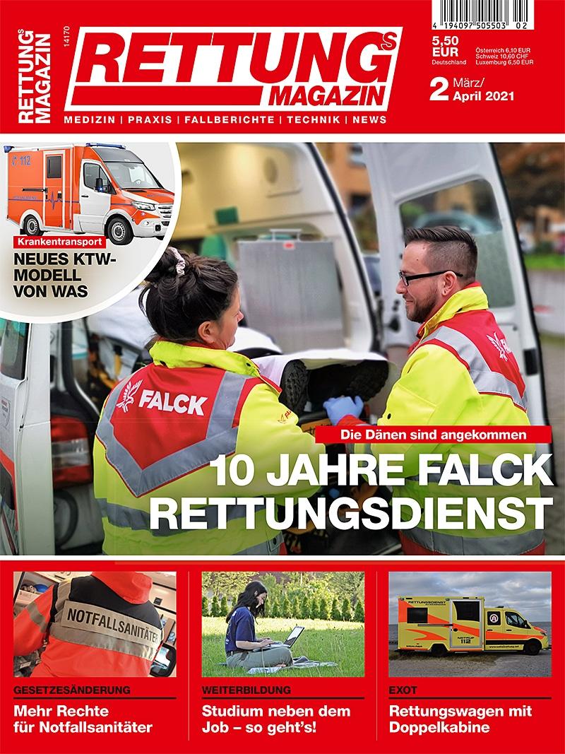 Produkt: Rettungs-Magazin 2/2021