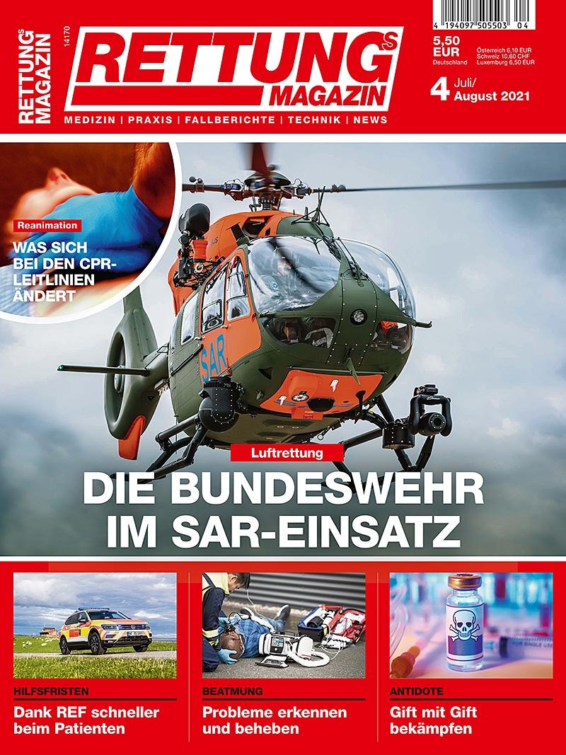 Produkt: Rettungs-Magazin 4/2021